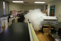 Alarm - bezečnostní mlha - první fáze
