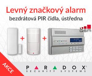 Alarm Paradox s klávesnicí levně