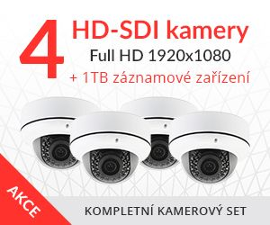 HD-SDI kamerový set
