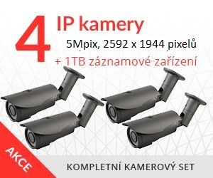 IP kamerový set